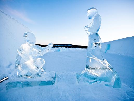 Large Couple In Ice By Annasofia Mååg Photo Martin Smedsenv2