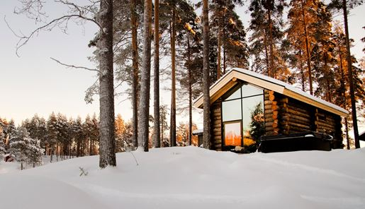 Winter at Arctic Retreat in Swedish Lapland
