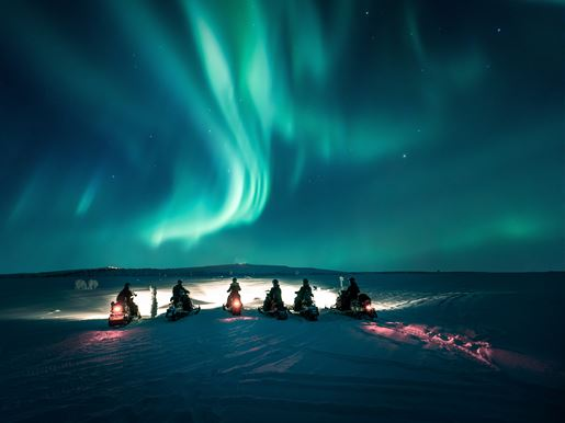 Northern Lights In Finland