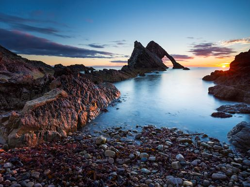 Bow Fiddle Rock Portknockie Visitscotland Kenny Lam