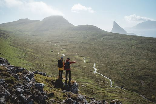 Hiking in the Faroe Islands
