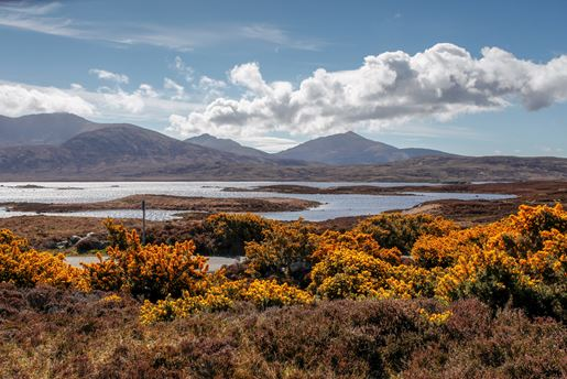 Loch Druidibeg National Nature Reserve on the Isle of South Uist, Outer Hebrides, Scotland