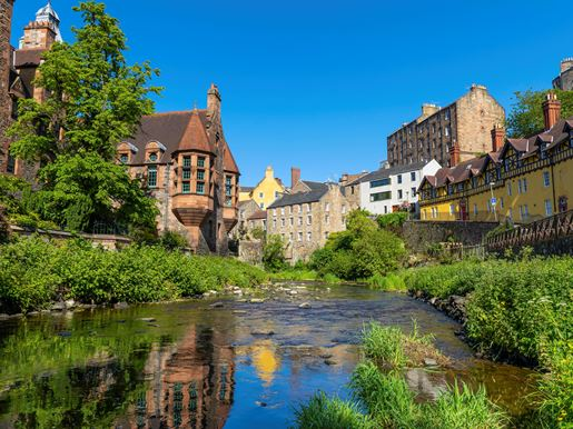 Dean Village On The Water Of Leith, Edinburgh Kenny Lam Visit Scotland