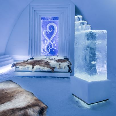 Medium Art Suite Infinitlove Icehotel 2017