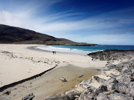 Tangasdale Beach, Beside The Isle Of Barra Hotel Visitscotland Paul Tomkins